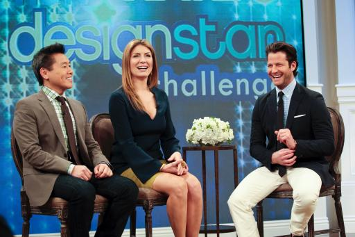 HGTV Design Star judges Vern Yip and Genevieve Gorder discuss design with Nate Berkus
