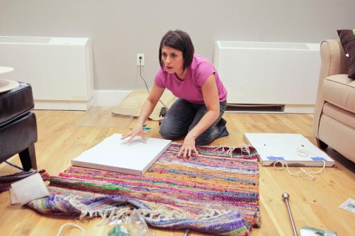 HGTV Design Star finalist Kellie Clements at work