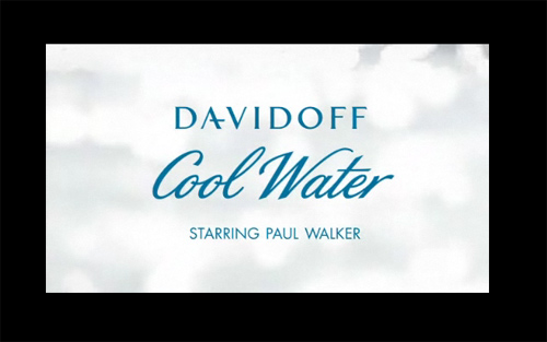 Paul Walker and Davidoff Cool Water