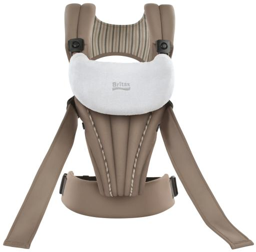Organic Tan BABY CARRIER (front view)