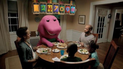 Barney in Sprout PSA