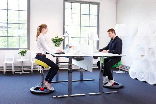 Back App Ergonomic Chair in the Office