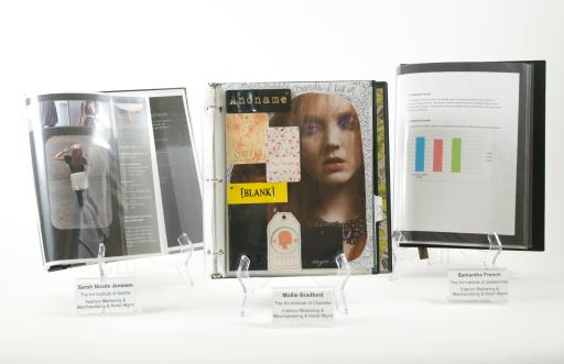 2011 Top Three National Fashion Marketing Category Winning Entries