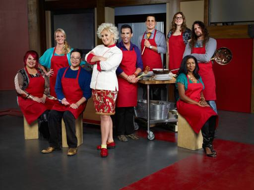 Anne Burrell & Team