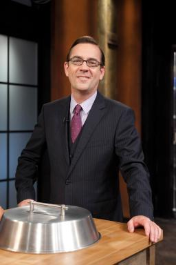Ted Allen smiles for Chopped All-Stars Season Two