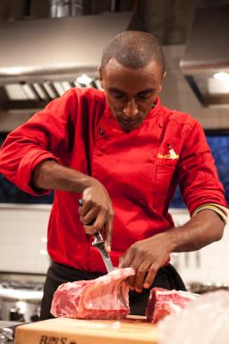 Chopped judge Marcus Samuelsson