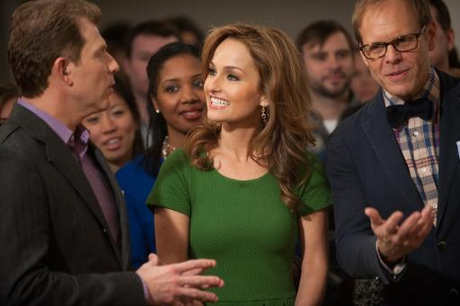 Bobby, Giada, & Alton discuss the competition
