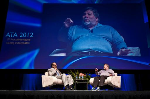 Keynote presentation by Steve Wozniak