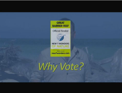 Why vote for Great Barrier Reef?