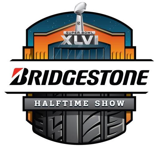 Bridgestone Halftime Show logo