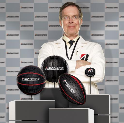Bridgestone Performance Balls (and Puck)
