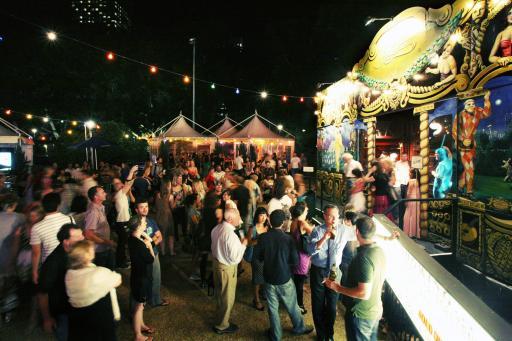 Festival Garden at Sydney Festival