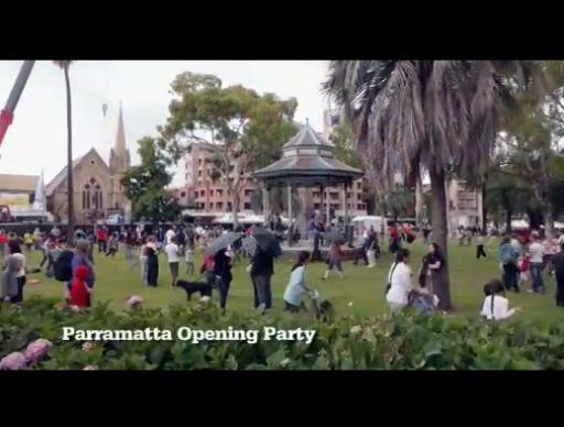 Parra Opening Party at Sydney Festival 2012