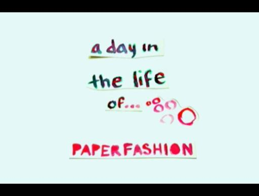 Paper Fashion Power Up