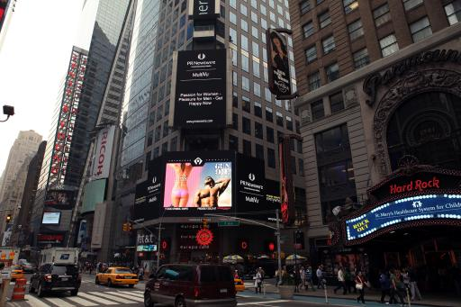 Spicing Up New York's Times Square