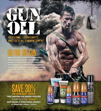 Our Powerful Gun-Oil Line for Men 