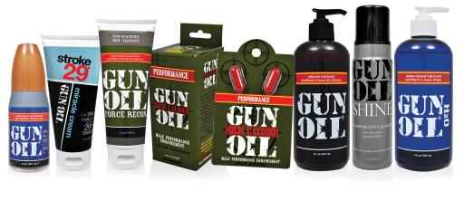 Gun-Oil for Today's Confident Man