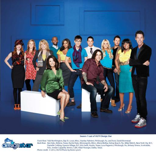 Design Star Season Seven Finalists