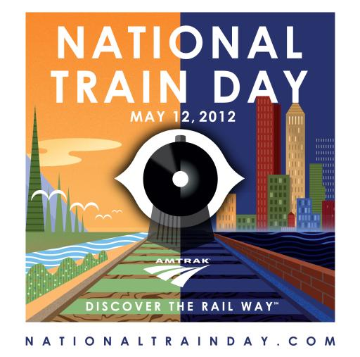 National Train Day Logo