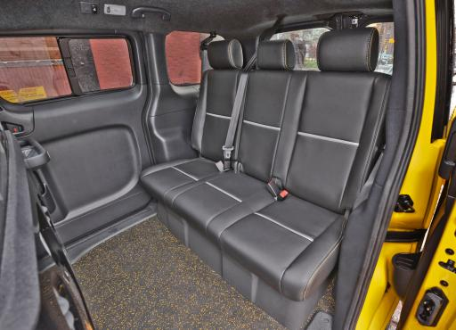 Nissan Taxi Rear Interior