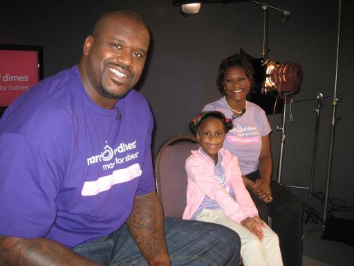 March 1, 2012:  Shaquille O'Neal