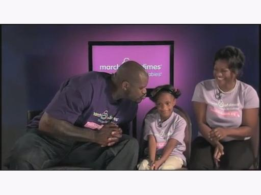 Shaq and March of Dimes