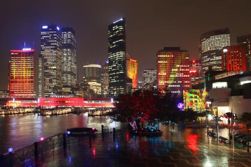 Vivid Sydney 2012 - Skyline