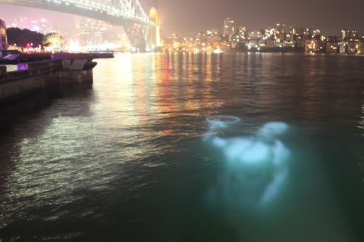Vivid Sydney 2012 - Ghost in the Harbor