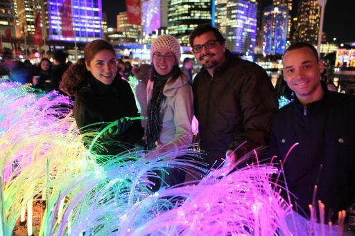 Vivid Sydney 2012 – Colourful Sea Grass
