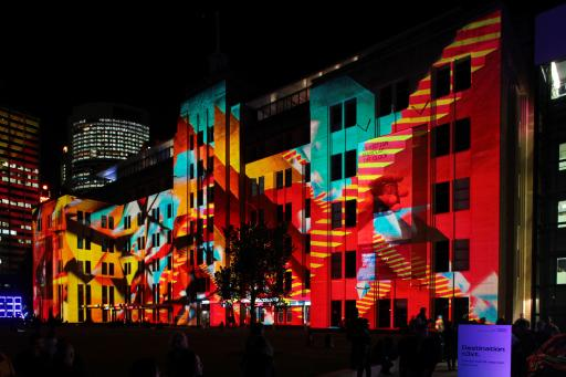 Vivid Sydney 2012 – Museum of Contemporary Art Australia