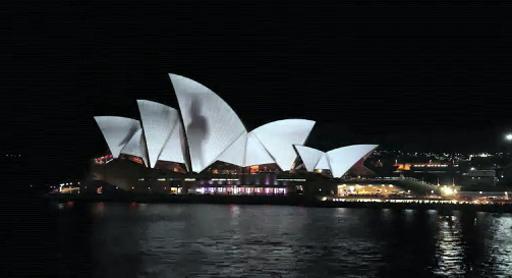 Vivid 2012 Opera House Sails