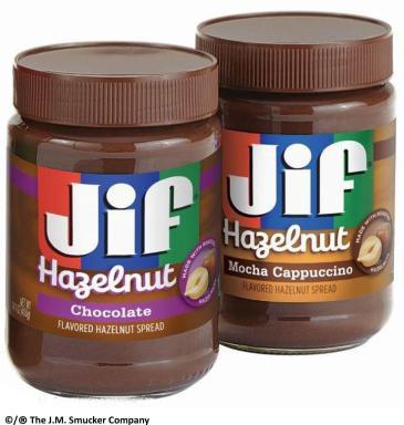Jif® Hazelnut Spreads