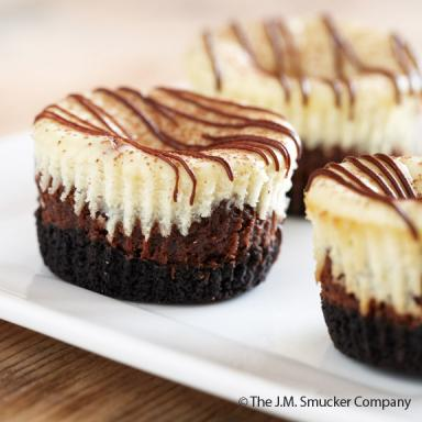 Cappuccino Hazelnut Cheesecake Minis