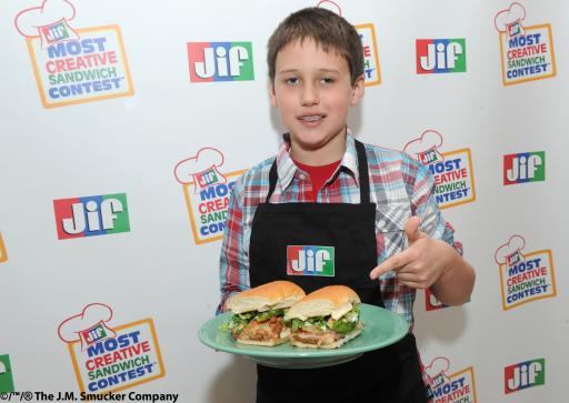 Jif® Most Creative Sandwich Contest™ Winner