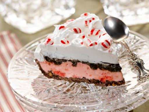 Triple Chocolate Peppermint Pie