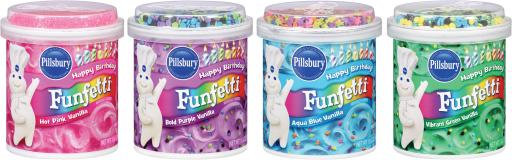 Funfetti® Bold Colored Frostings
