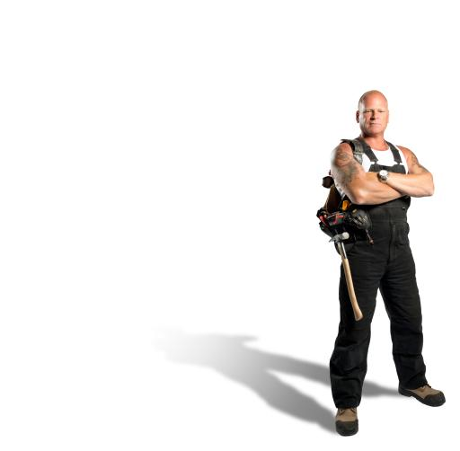 Mike Holmes - White Background