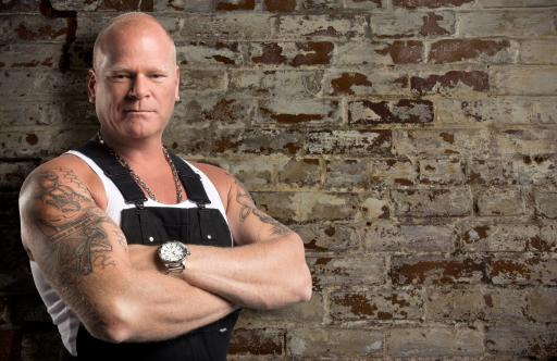 Mike Holmes - Brick Background
