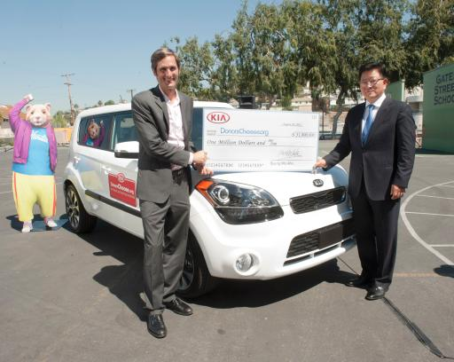 Kia Motors America and DonorsChoose.org