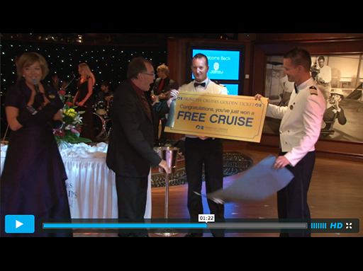 Princess Cruises Surprises Passenger