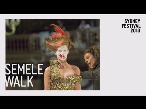 Semele Walk at Sydney Festival 2013
