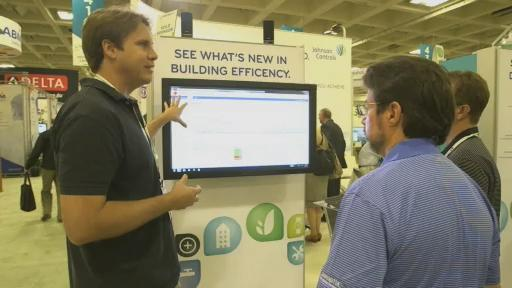 Panoptix demonstration at Greenbuild 2012