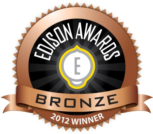 Edison Awards 2012 Bronze Medal Winner