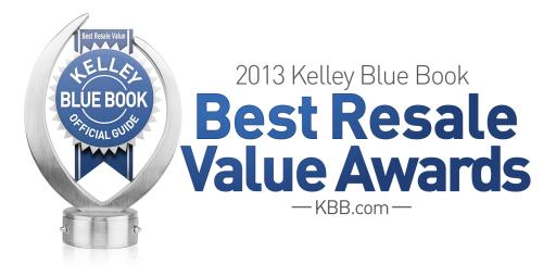 2013 Best Resale Value Awards Logo