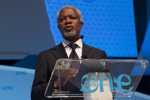 Kofi Annan at One Young World