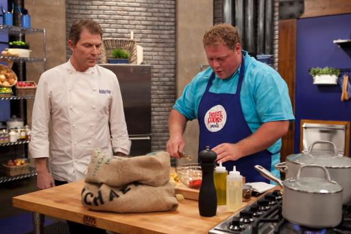 Michael Paul and Bobby Flay