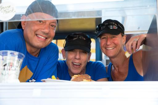 Boardwalk Breakfast Empire participates on The Great Food Truck Race Season 4