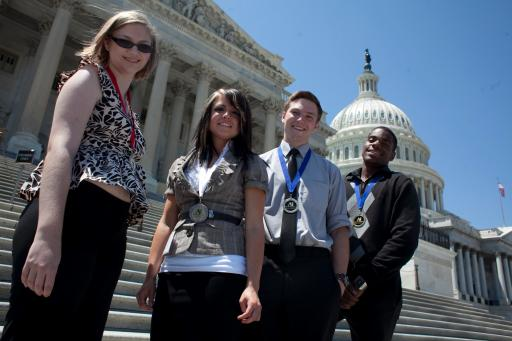 2012 Winners at Capitol