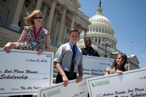 2012 Winners on Capitol Hill