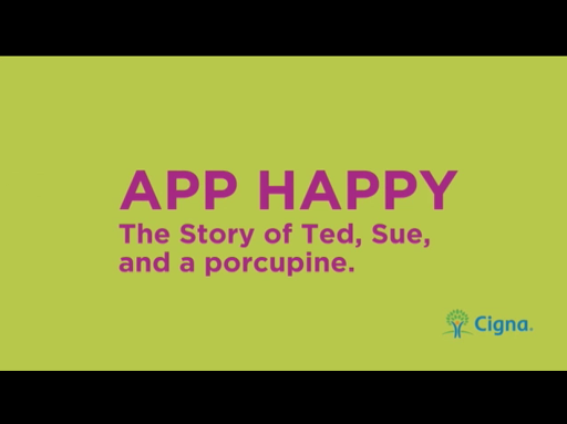 App Happy. The Story of Ted, Sue and a Porcupine